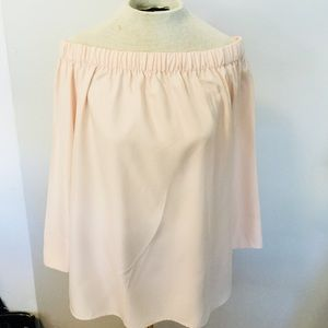 LAFAYETTE 148 New York blush pink blouse